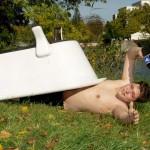 Bad in Kreuznach: Badeschlappe