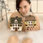 Bad in Kreuznach: Bad mit Brückenhäusern