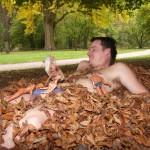 Bad in Kreuznach: Lust auf ein Laubbad?